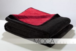 Koc Moca design150x200 black&red